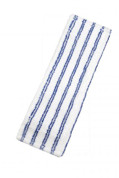 "Microfaser Mopp ""BASIC ST gestreift - blau / weiss"" , 40cm MPM257.40"
