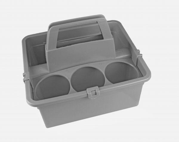 Flaschenhalter & Aufbewahrungsbox FH04 - grau