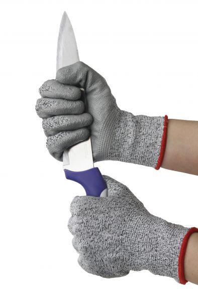 4 in 1 Arbeitsschutzhandschuh, Schnittschutzhandschuh, Gartenhandschuh, Multifunktionshandschuh - HS