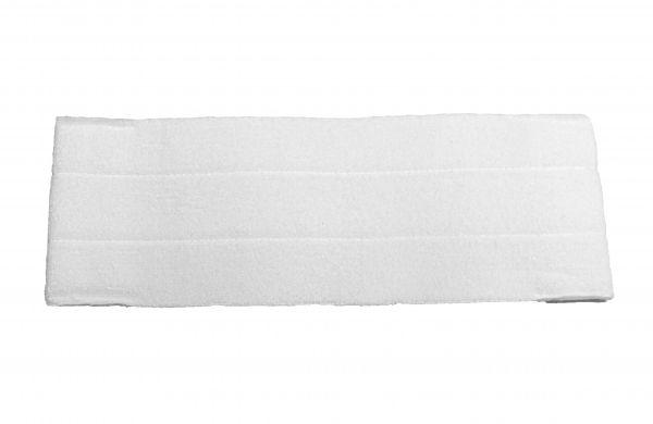 Microfaser Mopp EASY QUICK Premium Einweg- / Mehrwegmopp ohne Taschen, 40cm, MPMEV321.5